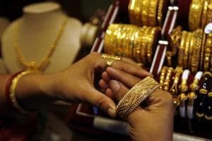 Jewellers attributed the drop in sales to factors like demonetisation, GST and the slowdown in the economy