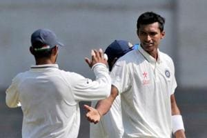 Navdeep Saini starred for Delhi in the Ranji Trophy semi-final against Bengal.