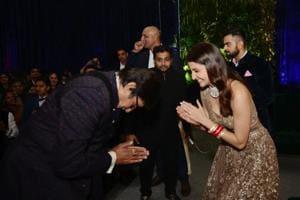 10 best moments from Virat Kohli, Anushka Sharma reception: Amitabh's...