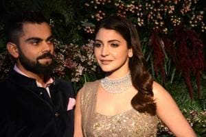 India's cricket captain Virat Kohli celebrated his recent wedding to...