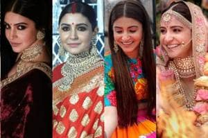 Anushka Sharma, Virat Kohli wedding fashion: All the best looks of the...