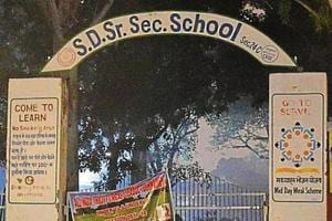 SD Senior Secondary School, Sector 24, has been downgraded to secondary level — up to Class 10.