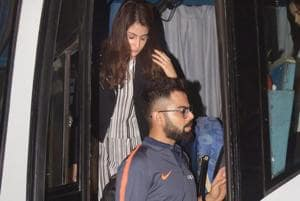 Virat Kohli & Co leave for South Africa with Anushka Sharma in tow