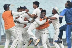 Vidarbha will be playing in their maiden Ranji Trophy final against Delhi inIndore.