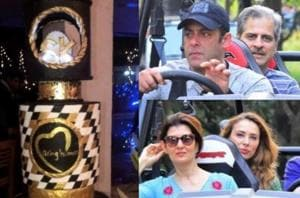 Salman Khan's grand birthday cake and other inside pics from the...