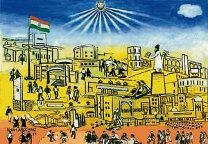 One of the walls at the Jamia Millia Islamia Metro Station will display a mural painted by the students and teachers of the university to depict the evolution of the institute that was originally established in 1920 at Aligarh in Uttar Pradesh.