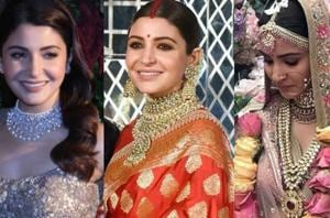 Actor Anushka Sharma not only wore some traditional jewellery at her wedding, she also chose few whimsical pieces.