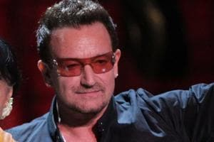 Bono says he had 'near-death' experience while making U2 album Songs...