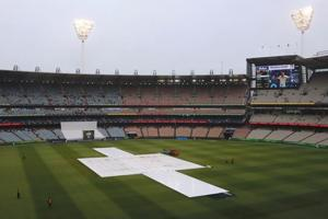 The Ashes: Play abandoned as England's hopes fade in rainy Melbourne