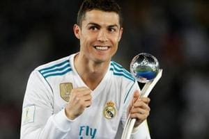 Cristiano Ronaldo named Globe Soccer's Best Player for the second year...