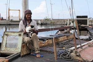 Photos: Polish man and cat rescued in Indian Ocean after 7 months at...