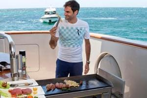 Roger Federer visited Rottnest Island in Perth, Australia on Thursday...