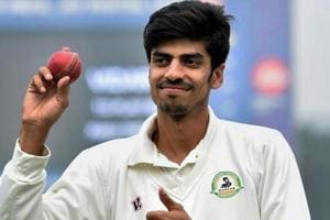 Rajneesh Gurbani performed exceptionally well on the second day as his hat-trick put Vidarbha in a commanding position against Delhi in the Ranji Trophy final at Indore's Holkar stadium.