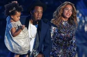 Jay-Z, Beyonce imagine daughter Blue Ivy Carter as US leader in new...