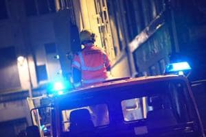 Manchester fire engulfs 12-storey residential building