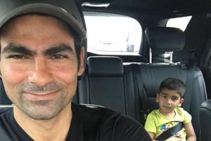 Mohammad Kaif' son takes on Sachin Tendulkar in cricket via machine....