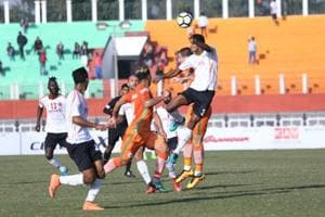 Neroca found a late equaliser to hold East Bengal to a 1-1 draw in the I-League in Imphal on Saturday.