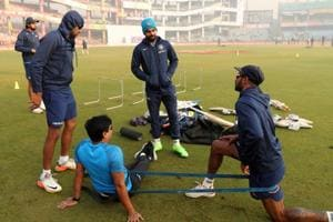 The Indian cricket team got down to business within 24 hours of...