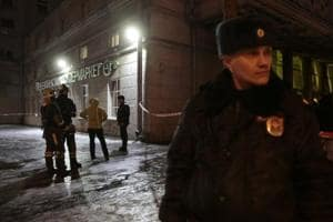 Saint Petersburg supermarket blast suspect arrested