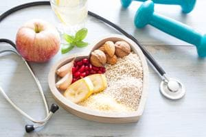 Along with exercise, a diet high in the natural fibre found in whole grains, legumes, fruit and vegetables, and low in fat, carbohydrates, sugar and salt, can lower your chances of developing diabetes.