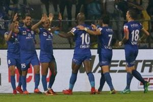 In a game that saw tempers flaring on both sides, it was Mumbai City...