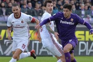 AC Milan fight back to earn point against Fiorentina in Serie A