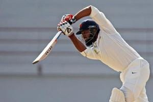 Wasim Jaffer scored a fifty for Vidarbha during the Ranji Trophy final against Delhi in Indore on Saturday. Get highlights of Ranji Trophy final, Delhi vs Vidarbha, Day 2 here.