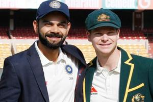 Steve Smith (R)was the highest run-getter in 2017, closely followed by Indian cricket team skipper Virat Kohli.