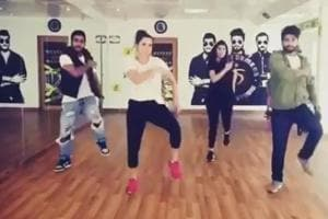 Sania Mirza takes dance lessons as she continues injury recovery -...