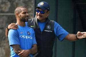 Shikhar Dhawan takes ginger steps in road to ankle injury recovery in...