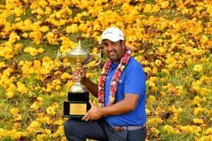 Golfer Shiv Kapur wins third Asian Tour title in Thailand to round off...
