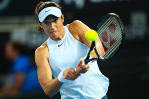 Caroline Garcia succumbs to back injury in Brisbane International...