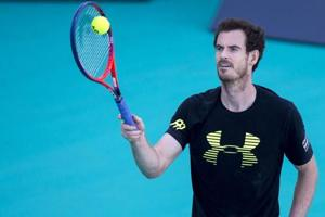 Andy Murray desperate to get back to action, keeps Australian Open...