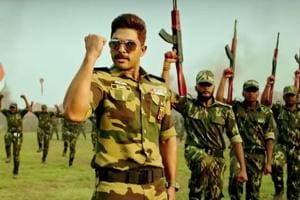 Naa Peru Surya first look: Allu Arjun plays the role of young, angry...