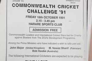 When Nawaz Sharif took cricket diplomacy to CHOGM