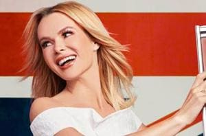 Actor Amanda Holden says she doesn't like to leave the house without...