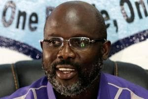 George Weah has been elected president of Liberia.