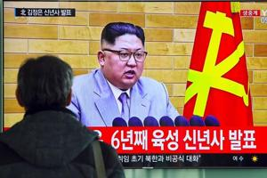 Kim Jong-Un says launch button always on his desk, calls on North...