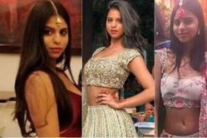 Shah Rukh Khan's daughter Suhana Khan dons traditional look at a...