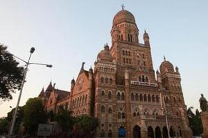 The Brihanmumbai Municipal Corporation's headquarters in Mumbai.