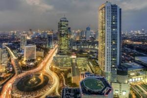 Travelling to Indonesia? Take the new airport train in Jakarta to...