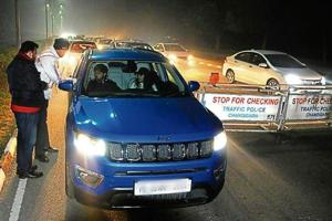 Chandigarh police cracks whip on drunk drivers; 203 fined on New...