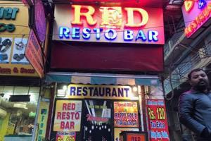 Red Resto Bar on GB Road.