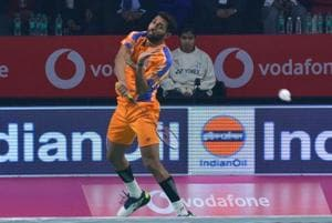 HSPrannoy beat Kidambi Srikanth in the Premier Badminton League on Tuesday.