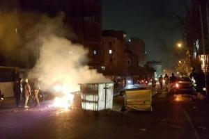 Iranian Police arrests 100 protesters in Tehran as crackdown...