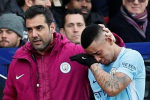 Gabriel Jesus suffers knee ligament damage, could be out for one month