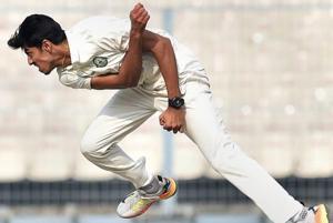 Vidarbha cricketer Rajneesh Gurbani was named Man of the Match in the Ranji Trophy final.