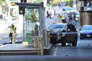 Australian driver who rammed pedestrians charged with murder