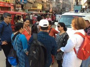 Teams from IITKharagpur and other USIvy League institutes are in Varanasi for a water urbanism project.