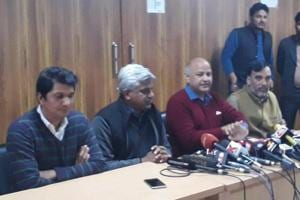 AAP's highest decision making body, the Political Affairs Committee (PAC), met soon after the meeting of MLAs and formally approved the decision.